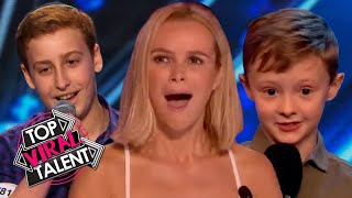 NAUGHTY Kid Comedians INSULT The JUDGES. They CAN'T BELIEVE IT!