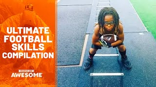 Most Epic American Football Skills | Ultimate Compilation