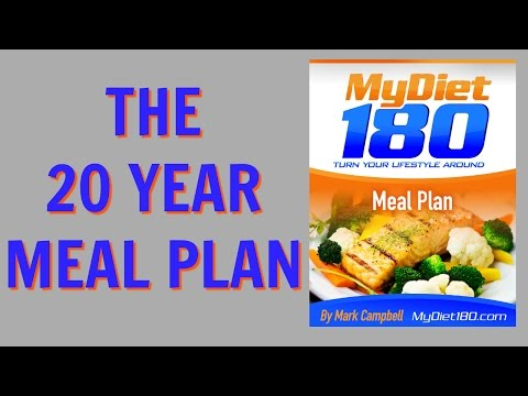 The 20 Year Meal Plan