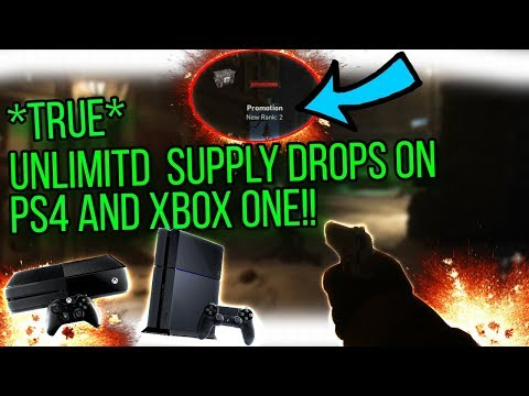 WW2 Nazi Zombies: TRUE Unlimited Supply Drop Glitch For Xbox One/PS4!?