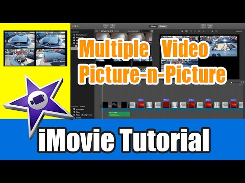 iMovie Tutorial - Multiple Picture in Picture Overlay