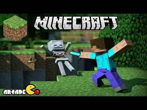 Minecraft - Kill Zombies Skeleton and Creeper - Minecraft Video Game