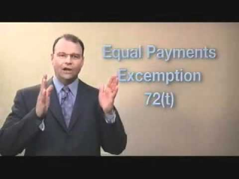 Tip of the Week: Accessing Your 401K or IRA Without Penalty by Financial Expert Steve Sexton