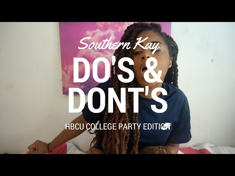 HBCU College Party Do's & Dont's | Southern Kay