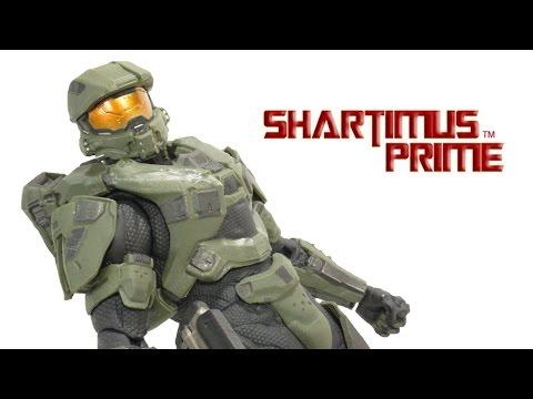 Kotobukiya Halo 4 Master Chief Tech Suit Mark V and Mark VI Armor Set ArtFX+ Statue Review