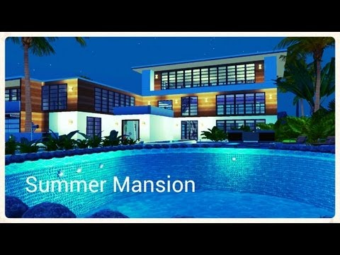 The Sims 3 - Summer Mansion (Island Paradise)