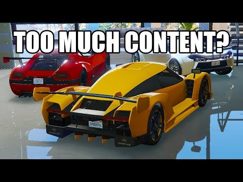 GTA Online has too much content