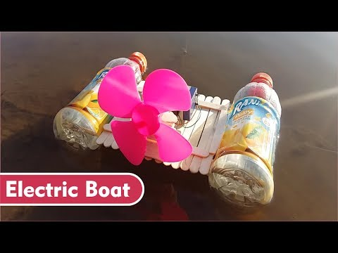 How to Make Powerful Electric Boat at Home