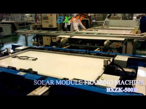 SOLAR PANEL  FRAMING MACHINE