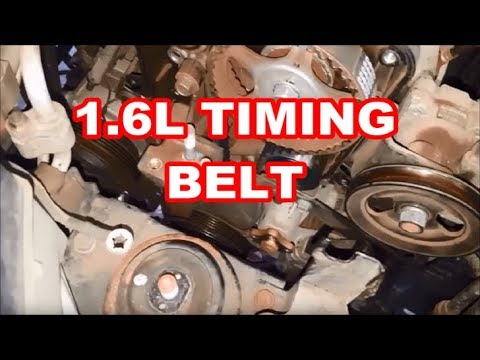 TIMING BELT REPLACEMENT 2011 HYUNDAI ACCENT 1.6L quick overview/tips