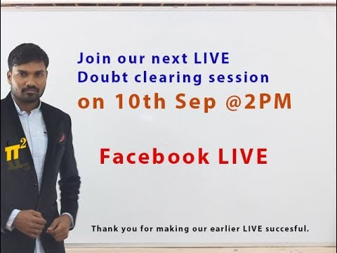 Live doubt clearing session for 30 minutes | PiSquare Academy