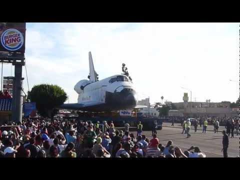 Space Shuttle Endeavor adventures on Crenshaw 1/3