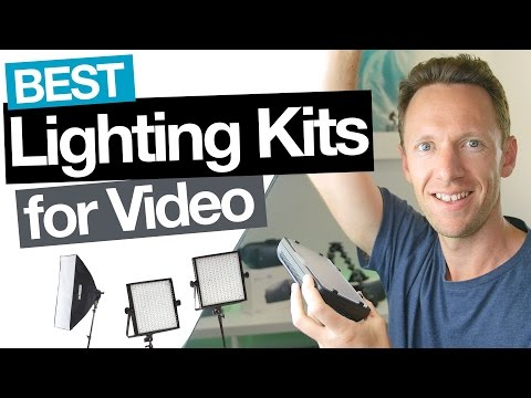 Best Video Lighting for YouTube (on all Budgets!)