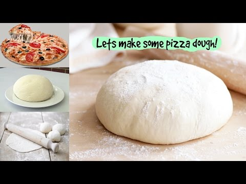 Pizza Dough Recipe| Without Yeast and Milk Pizza Dough|How to Make Pizza Dough Without Yeast &  Eggs
