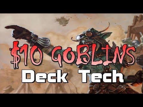Mtg Budget Deck Tech: $10 Goblins in Dominaria Standard!