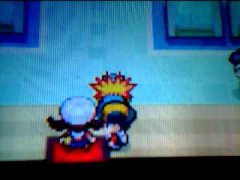 Funny Pokemon Heart Gold glitch