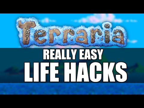Terraria Life Hacks EVERY Player Can Use! Tips and Tricks! [part 3] [1.3 update]