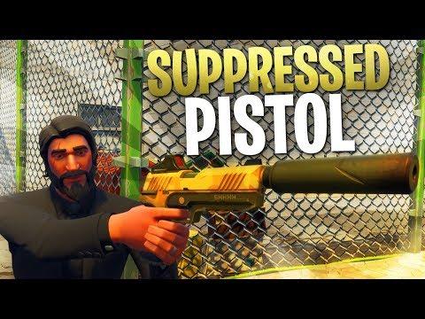 Fortnite In Depth: Suppressed Pistol