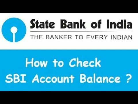 SBI Account Balance Kaise Check Kare // How to Check SBI Account Balance