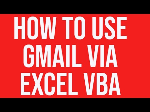 How to send email using Gmail via Excel VBA