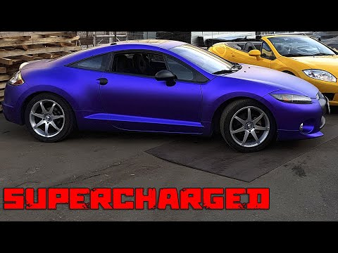 Mitsubishi  Eclipse 4G with Rotrex С38 SUPERCHARGER