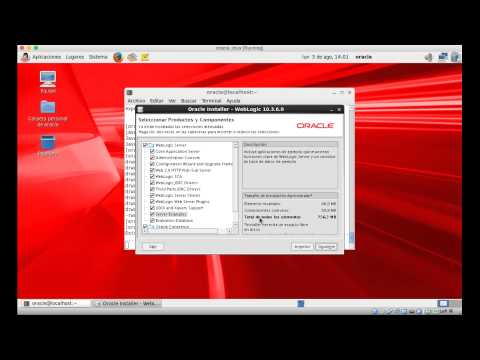 Instalar Weblogic Server 10.3.6.0 en Oracle Linux Enterprise 6.6