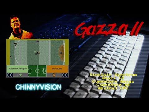 ChinnyVision - Ep 267 - Gazza 2 - Spectrum, Atari ST, Amiga, Commodore C64, Amstrad CPC