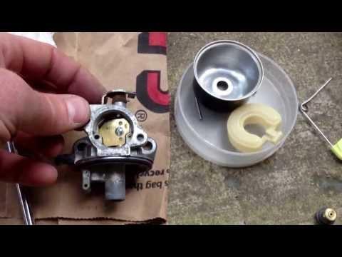 Briggs & Stratton Quantum Engine Carburetor Repair mower started then died immediately)