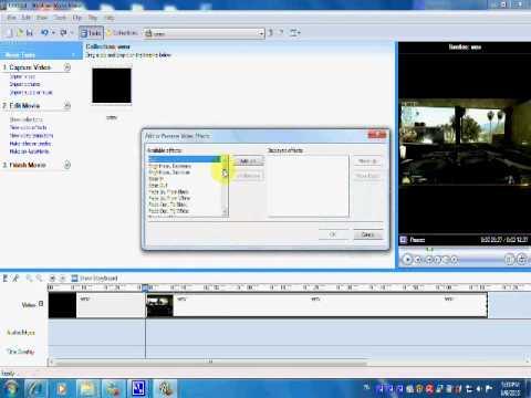 slow motion windows movie maker tutorial