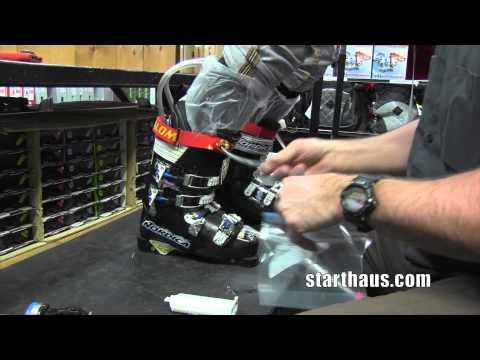 Custom Injecting Foam Ski Boot Liners