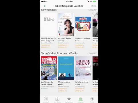 How to borrow and return books from your local libraries (Aldiko for iOS)