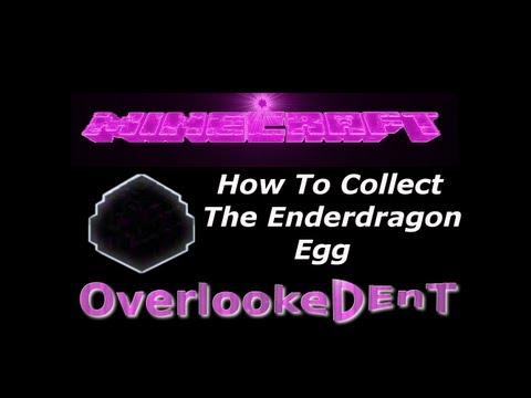 How To Collect The Enderdragon Egg - Minecraft Xbox 360/PS3 - [Tutorial]