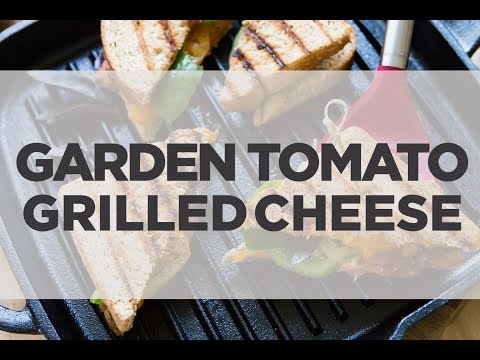 Garden Tomato Grilled Cheese