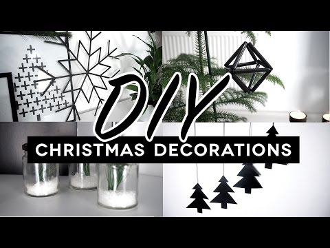 DIY CHRISTMAS DECORATIONS | pinterest inspired