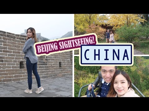 Sightseeing in BEIJING Vlog - Great Wall, Forbidden City & more!