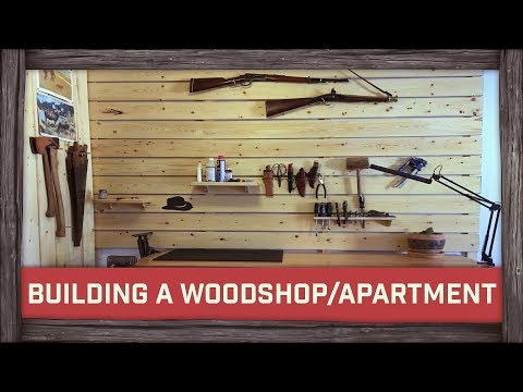 Building a Woodshop in an Apartment!