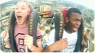 Teenager Passes Out Three Times On Slingshot