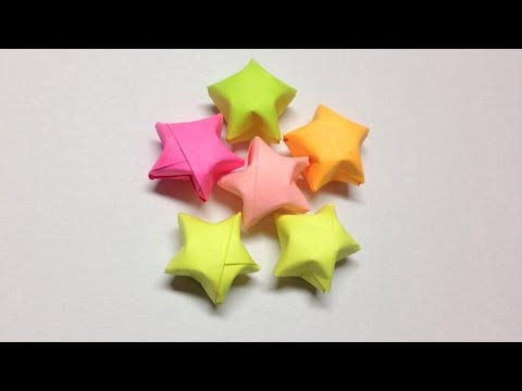 How to make a paper star | Easy origami stars for beginners making | DIY-Paper Crafts