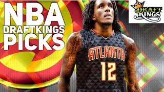 3/22/18 NBA DRAFTKINGS PICKS
