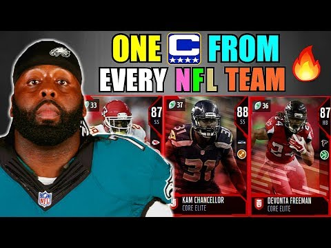 ONE CAPTAIN FROM EVERY NFL TEAM! MADDEN 18 ULTIMATE TEAM SQUAD BUILDER