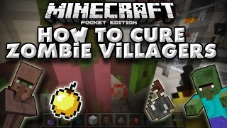How To Cure A Zombie Villager In Minecraft Pe Pocket Edition