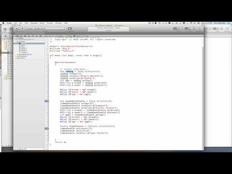 Learning Objective-C and Xcode
