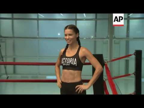 Adriana Lima's boxing workout
