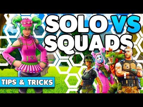 Win More Games! | Solo Vs Squads Tips & Tricks (1v4) | Fortnite Battle Royale