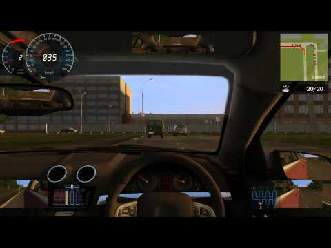 City Car Driving Career Walkthrough 3 STAR - Novice 3- Non stalling