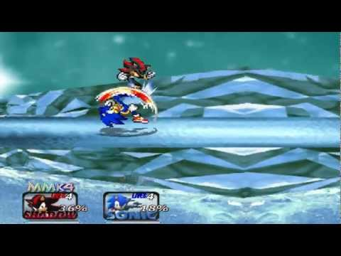 Super Smash Bros. Crusade - Sonic vs Shadow - Battle #01