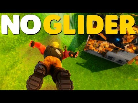 NO GLIDER / HOW TO FALL FASTER | Fortnite Battle Royale Tips
