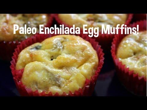 Paleo Enchilada Egg Muffins! Green Chile! GIVEAWAY!! Toddler friendly!