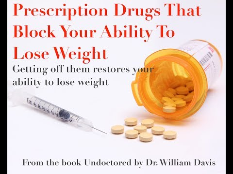 Prescription Drugs That Can Block Your Ability To Lose Weight
