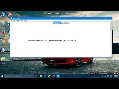 How to install Java Development Kit (JDK)